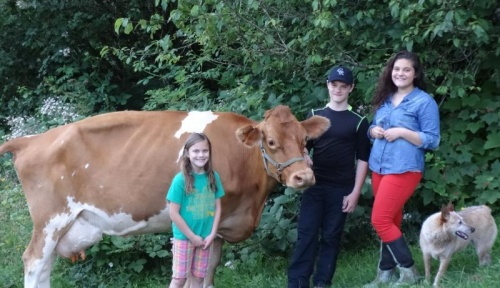 Raymond's Elk Creek Creamery is a Family Affair