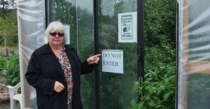 Vandals squash community garden's harvest for fall