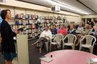 Toledo sees strong turnout for Poet Laureate reading