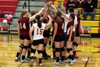 Cardinal Volleyball starts with two wins