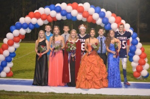 WVHS Homecoming Court