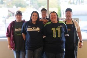 Pioneer Grocery Seahawk's fans