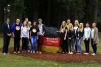 German exchange students sample northwest fare