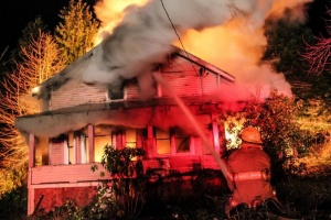 Local home lost in fire