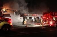 Fire damages deli, espresso stand at Mary's Corner