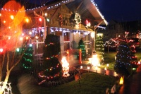 Local family receives anonymous prize for Christmas decorations