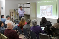 Concerns about pipe extension brought forward at Vader workshop