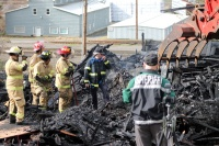 Three recovered from scene of Winlock fire