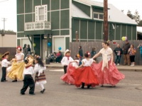 Student performers learn and share traditional Mexican folk dancing