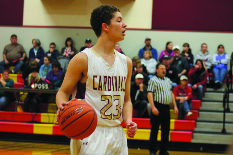 Cardinals fight hard against the Trojans