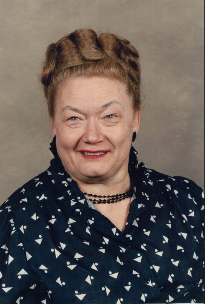 In Loving Memory of Evelyn Irene (Olson) Wilson