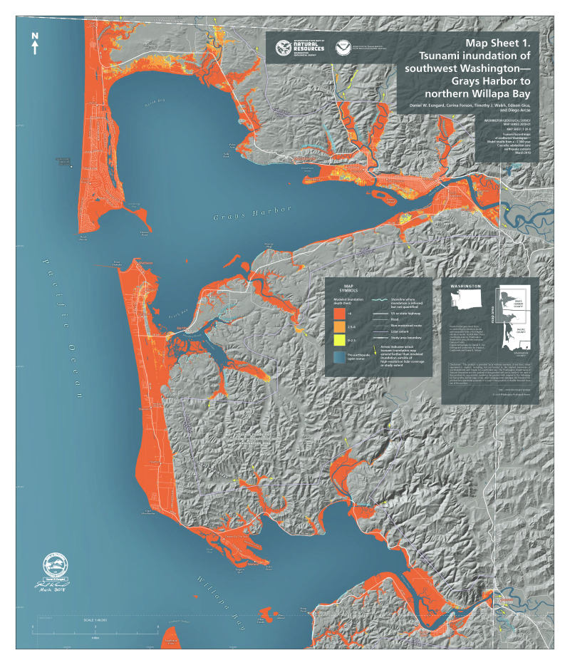 It could happen, and has: Cascadia Subduction Zone Quake