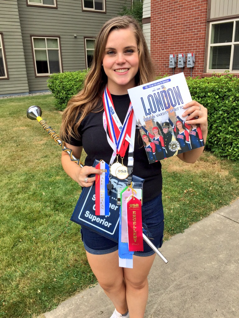 Drum Major Going to London