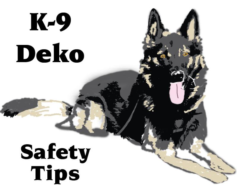 K-9 Deko Safety Tips 9.2.15