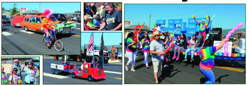 Great fun at the Labor Day Parade