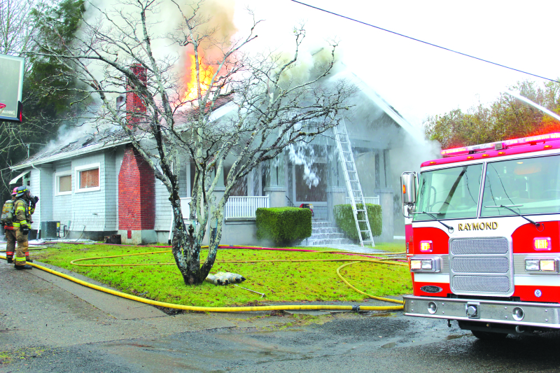 House in Raymond badly damaged in fire