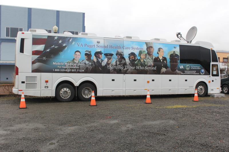 VA Mobile Unit back in Raymond