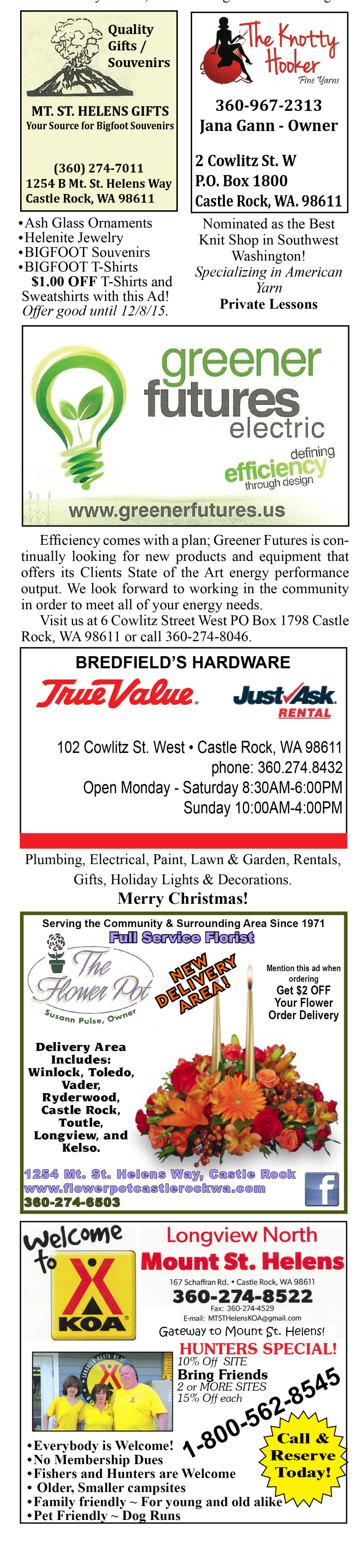 Light Up Castle Rock on Small Business Saturday