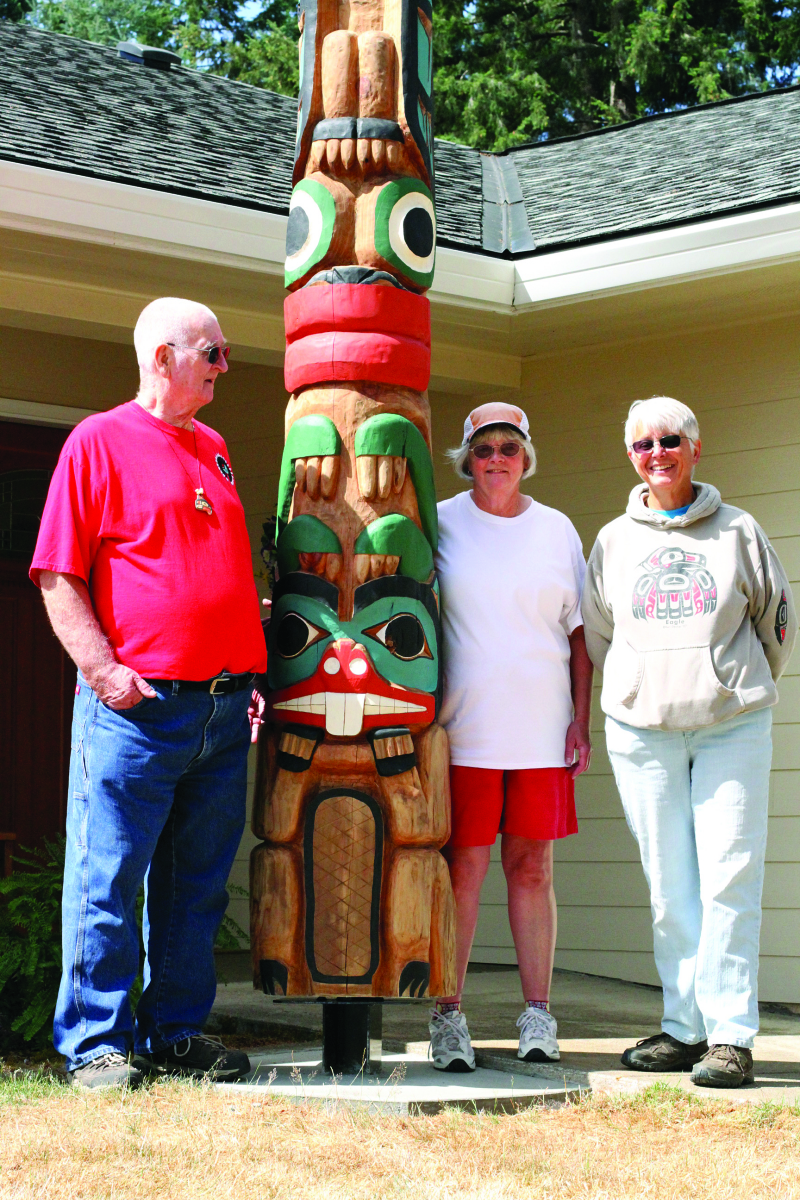Totem Pole Celebrates Community
