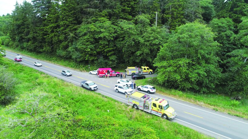 Hwy 101 accident