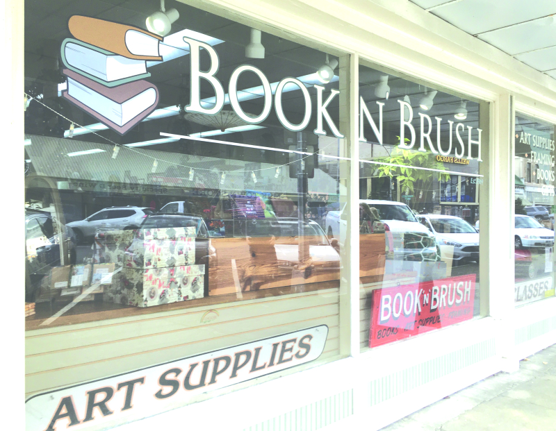 Books, paint, and frames oh my!