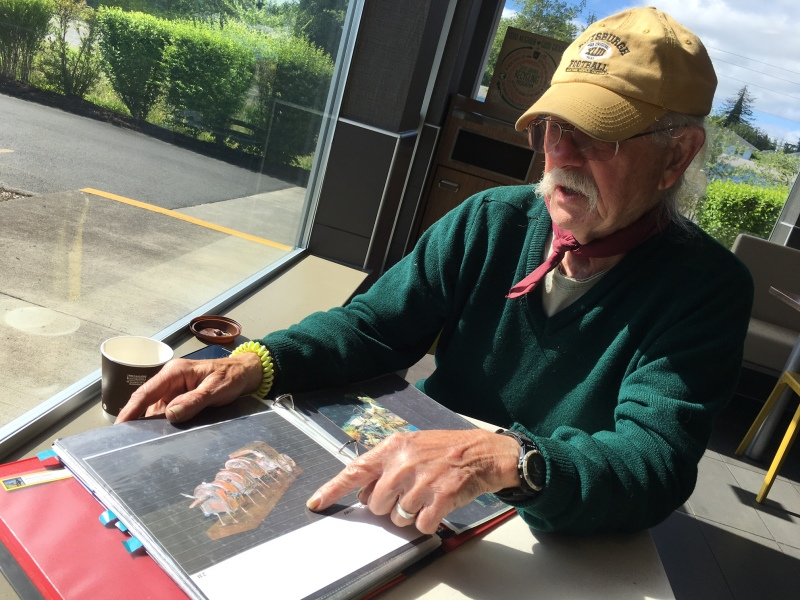 Local sculptor returns to his work after regaining inspiration
