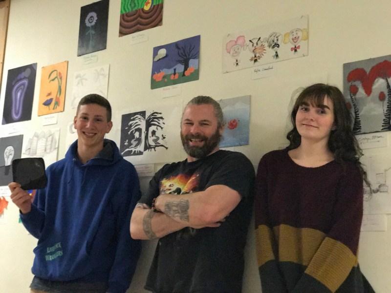 Napavine school's talented artists