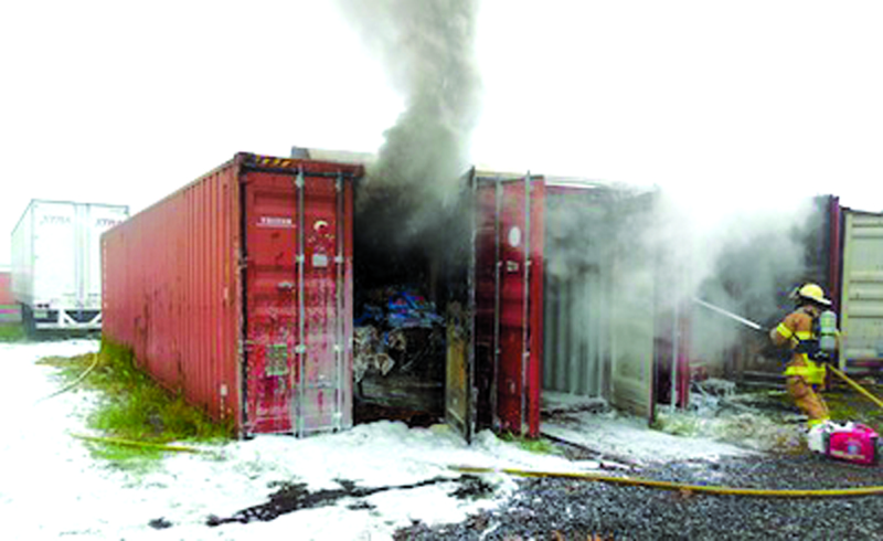 Fire at Jake's Fireworks is deemed