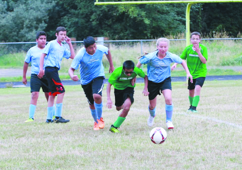 Raymond-South Bend  soccer practices continue