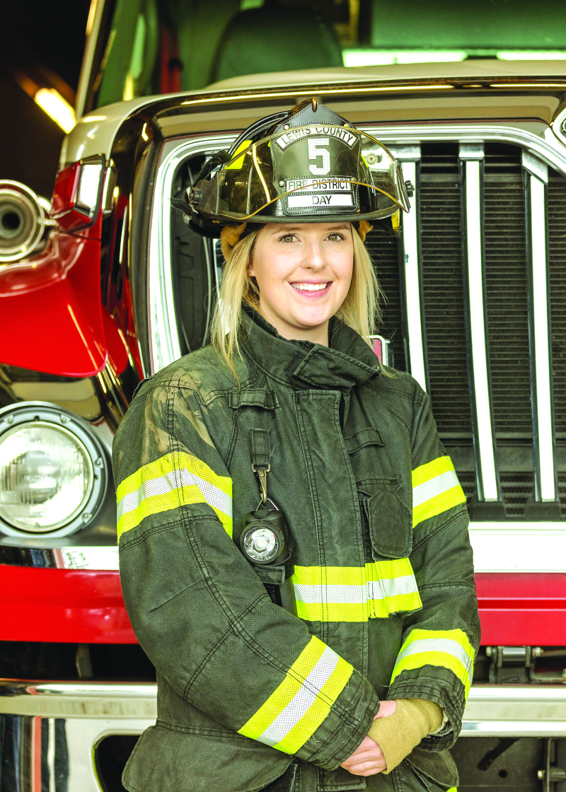 Lewis County Fire District adds new team member