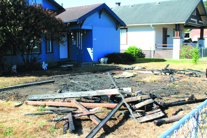 Raymond Fire Dept. responds to playhouse fire