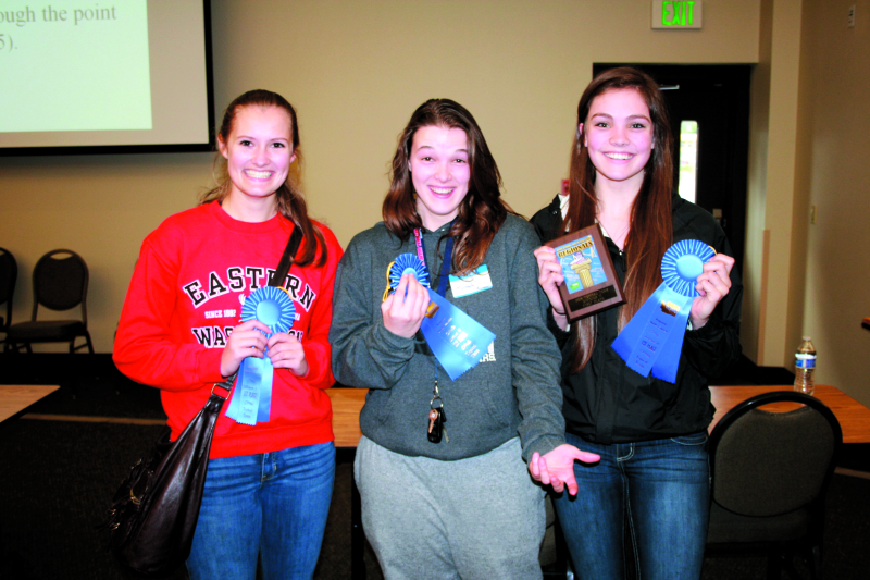 At regional Raymond students takes first