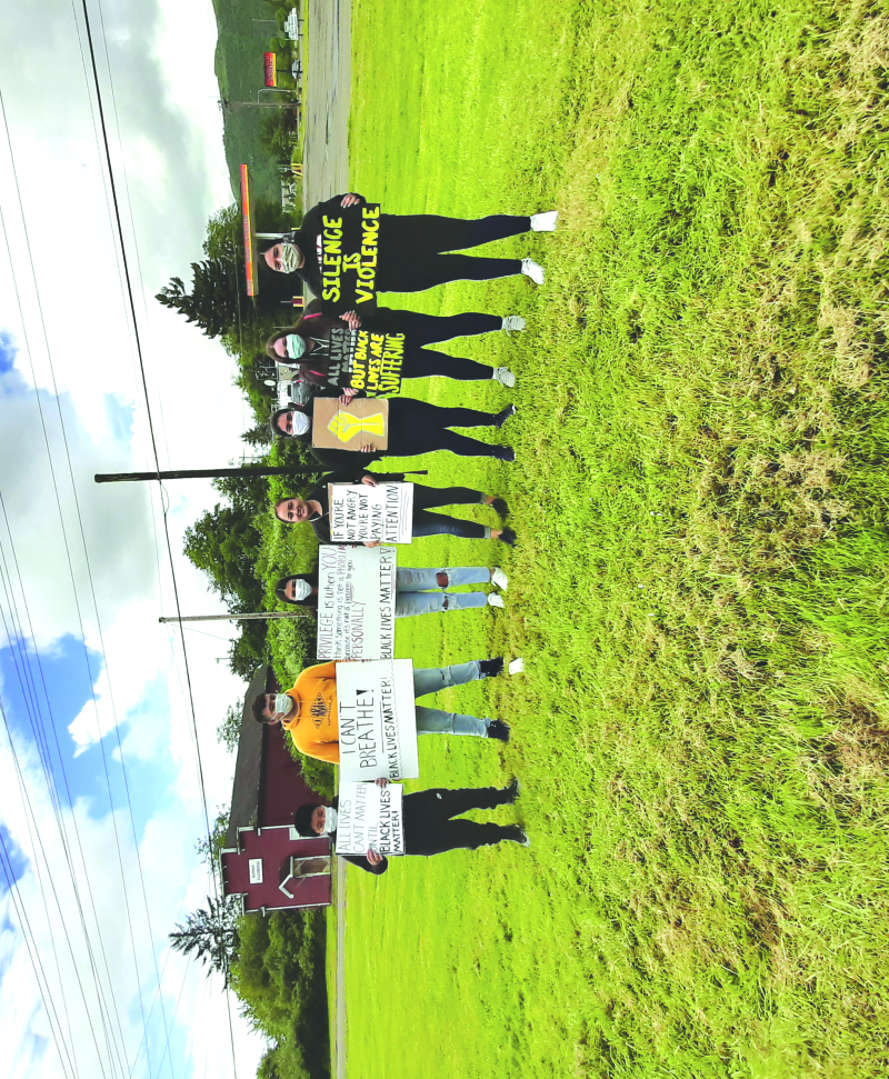Silent March in Raymond/South Bend brings awareness to Pacific County