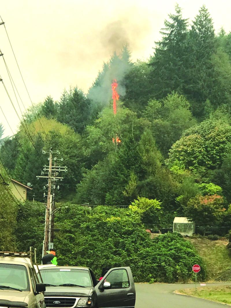 Speedy response douses fire