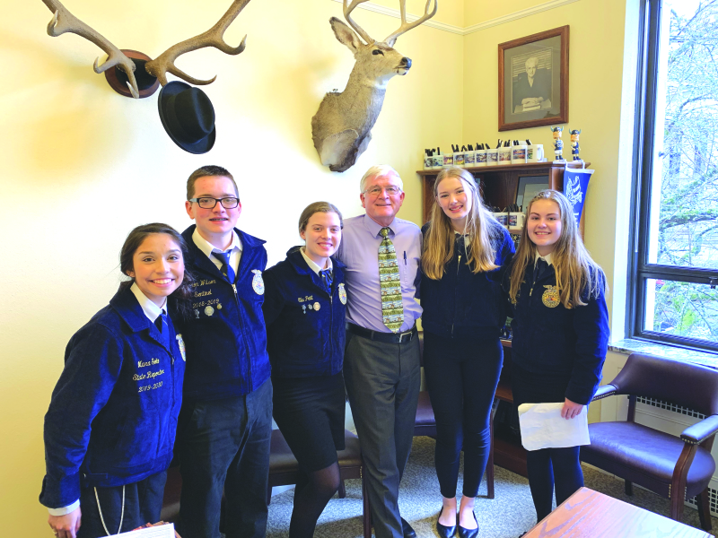 Valley FFA members advocate for agricultural education