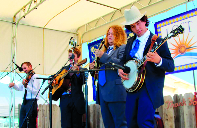 Welcome to Mt. St. Helens Bluegrass Festival