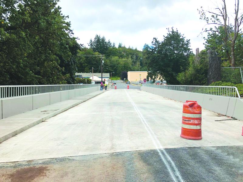 Fir Street Bridge re-opens