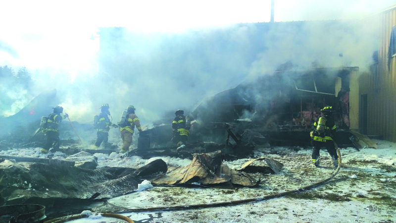 Fire destroys Toledo residence