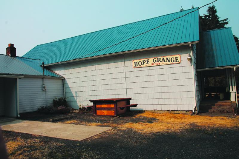 Historic Hope Grange focuses on local service