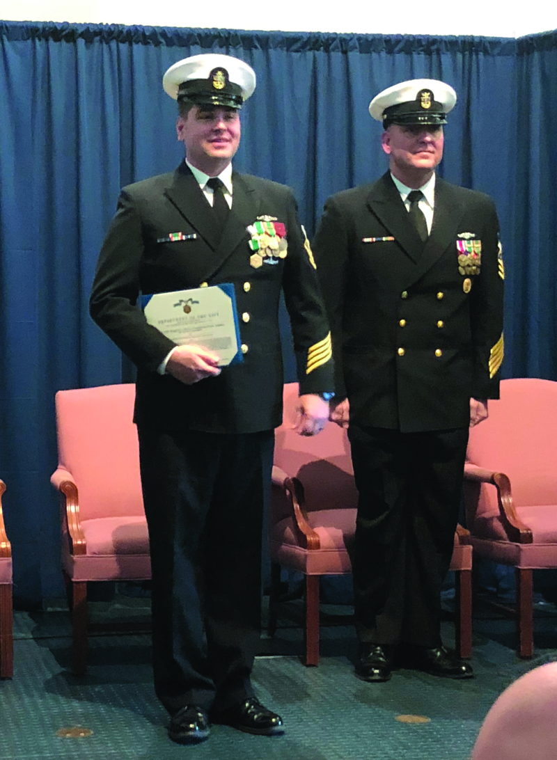 Local retires from US Navy after 20 years