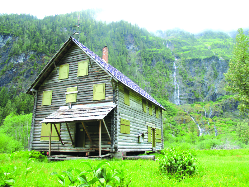 Help save the Enchanted Valley Chalet