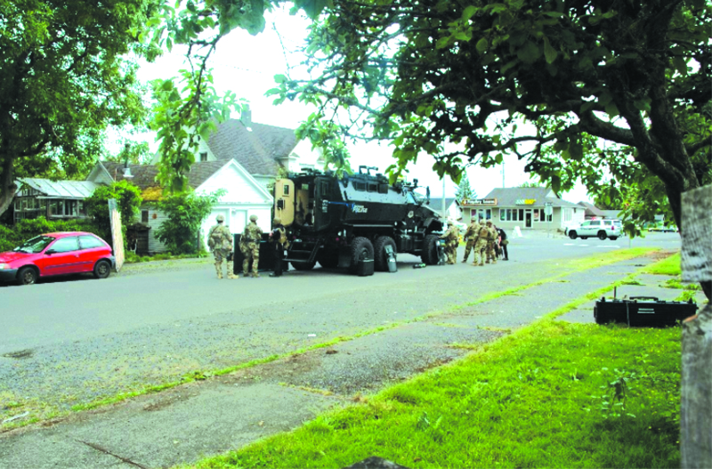 One in custody after Hoquiam Police face 7 hour standoff