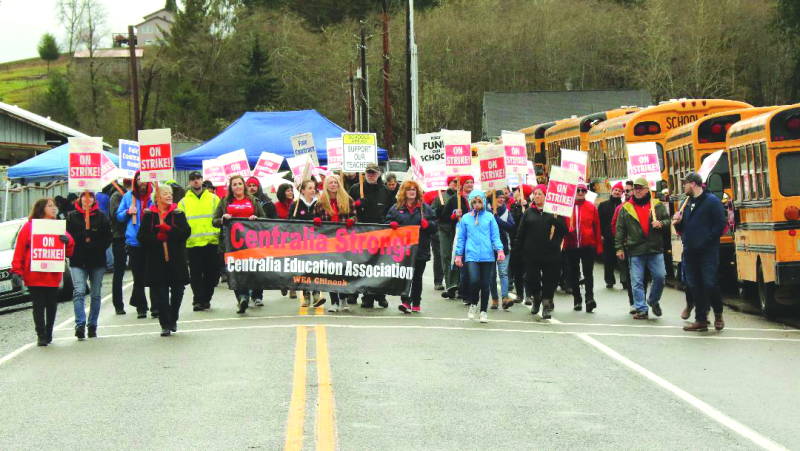 Willapa Valley teachers and students back to school