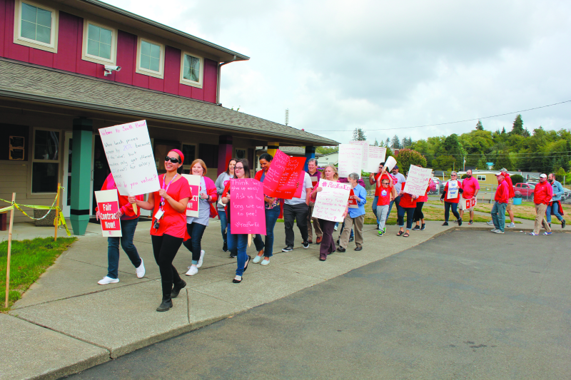 Tumwater Teacher Strike ruled illegal; South Bend teachers threatening to anyway
