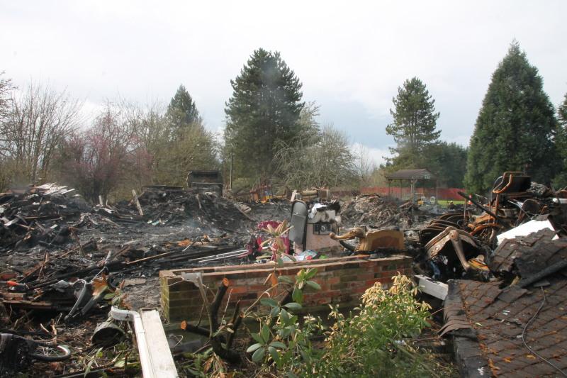 Toledo fire devastates family
