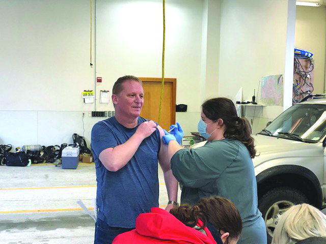 First COVID vaccines go out in Pacific County
