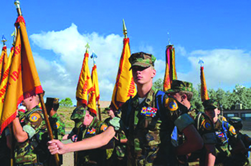 Young Marines start up in SW Washington
